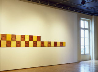 Exposition André Martin, Chronique et autres révélations, vue d'installation, galerie du 1er étage