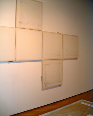 Alan Storey, vue d'installation de l'exposition