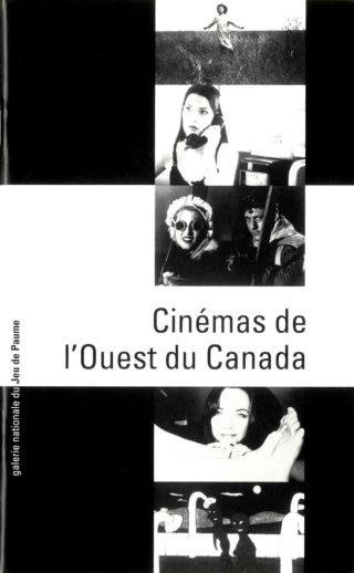 1999-12-07 - Cinémas de l'ouest canadien - Galerie nationale du Jeu de Paume - programme -couv