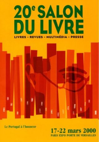 Affiche Salon du livre 2000 - Paris