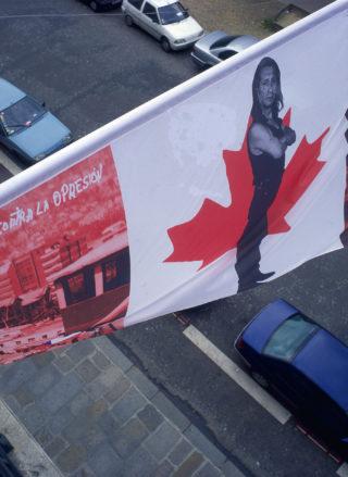 Vue de l'installation Identités flottantes - Photos © Brice Derez / Centre culturel canadien