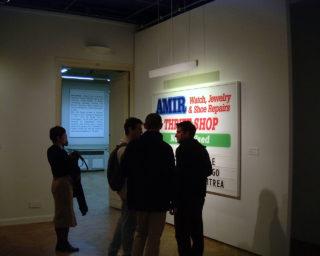 Vue de l'exposition Ken Lum