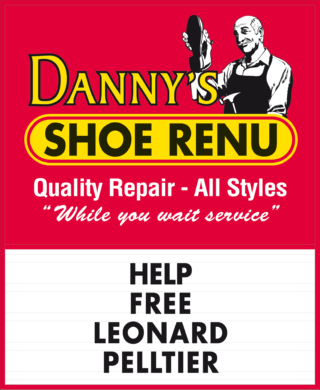 Ken Lum, Les Commerçants (The Shopkeeper Series) : Dany's Shoe RENU, 2001