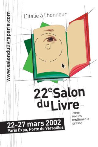Affiche salon du livre 2002