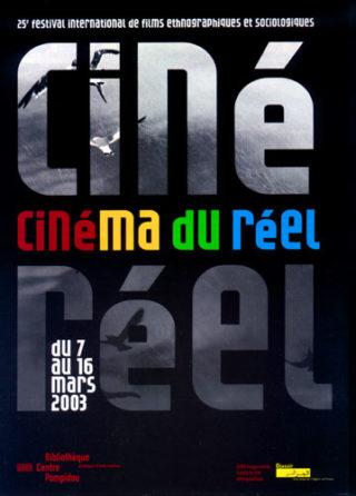 Affiche Cinéma du réel 2003b
