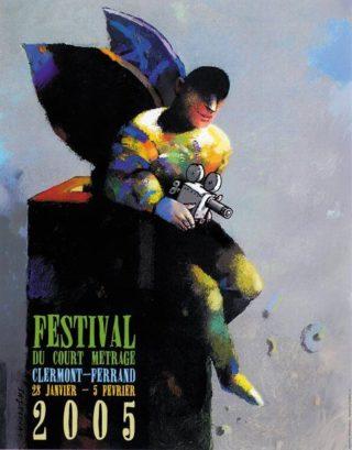 Affiche du Festival de Clermont-Ferrand 2005