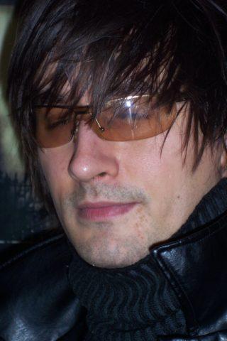 Pakho... chanteur du groupe rock Psionic