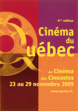 9ème Cinéma du Québec à Paris 2005