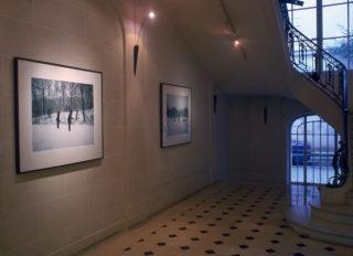 Exposition John Massey, This Land, vue d'installation, escalier