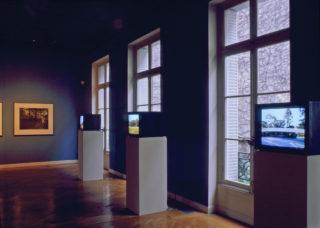 Exposition John Massey, This Land, vue d'installation, galerie du 1er étage