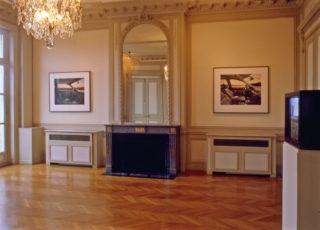 Exposition John Massey, This Land, vue d'installation, grand salon du 1er étage