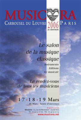 Affiche Musicora 2006