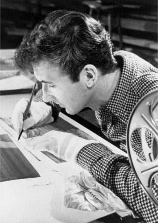 Norman McLaren. Photo ONF