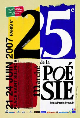 Marché de la poésie 2007