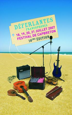 Déferlantes francophones Cap Breton 2007