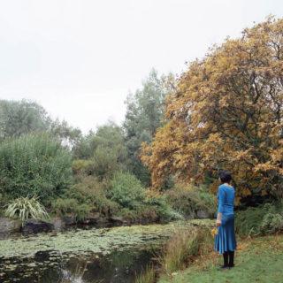 Karin Bubas, Autumn Woman at Pond, 2006