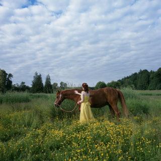 Karin Bubas, Woman and Horse, 2006