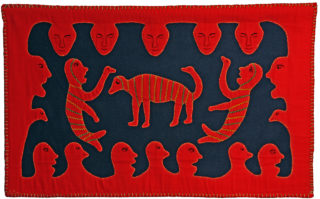 Tapisserie Inuit. Coll. Judith Burch 2