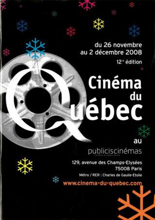 12ème édition Cinéma du Québec