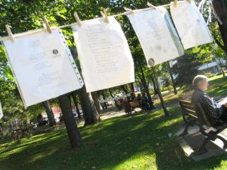 Festival international de la poésie - illustration