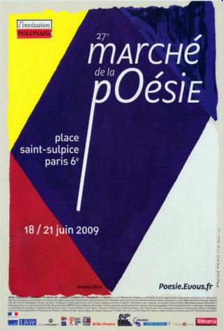 27ème Marché de la Poésie 2009