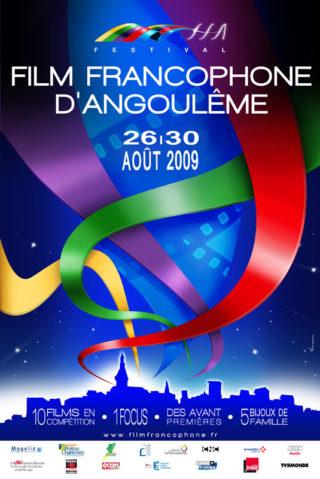 Affiche Festival Films francophones Angoulême 2009