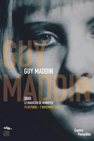 Affiche Guy Maddin Centre Pompidou