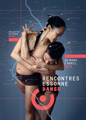 Affiche Rencontres Essonne Danse 2010