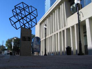 Monument illustration côté jardin poésie
