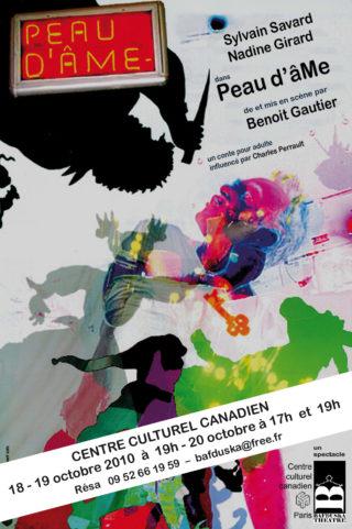 Affiche Peau d'âme 2010 CCC