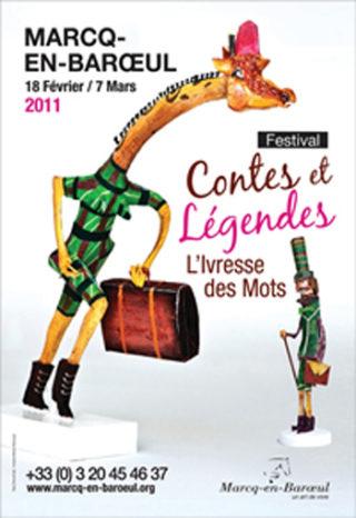 Festival Contes et Légendes L'Ivresse des mots de Marcq-en-Baroeul2011