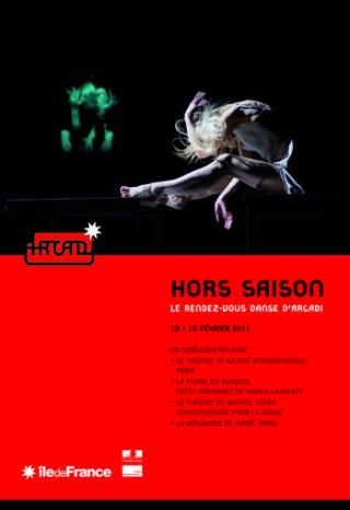 Hors-Saison, le rendez-vous danse d'Arcadi 2011