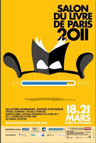 Affiche Salon du Livre de Paris 2011
