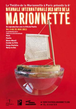 Affiche de la biennale marionette 2011