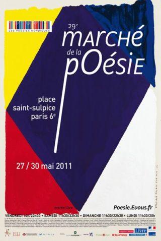 Marché de la poésie 2011