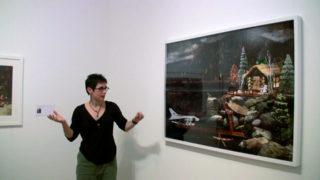 Video Diana Thorneycroft © Vincent Royer OpenupStudio Centre culturel canadien 2011
