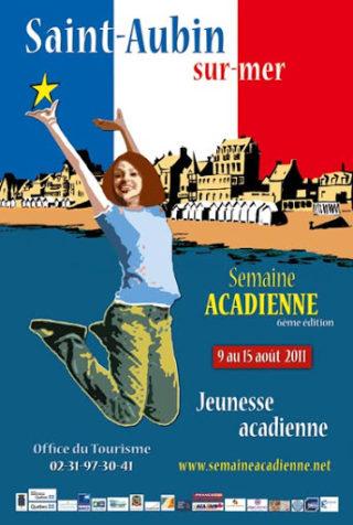 Semaine acadienne St Aubin sur Mer 2011