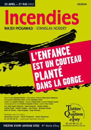 Incendies - Théâtre des Quartiers d'Ivry 2012