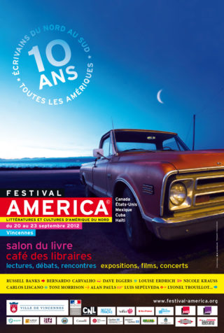 Affiche Festival America 2012