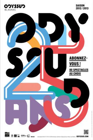Affiche 25 ans Odyssud 2012