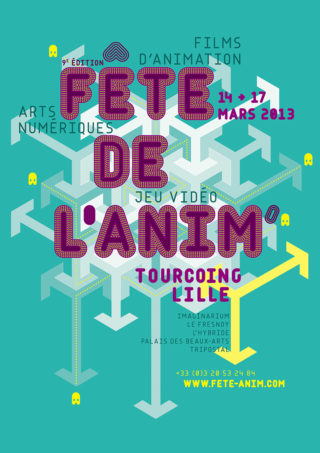Affiche Fête de l'anim' 2013