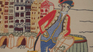Closeup image from Tapestry