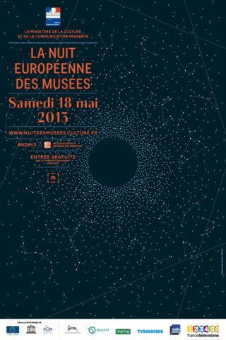 Affiche Nuiteuropéenne des musées 2013