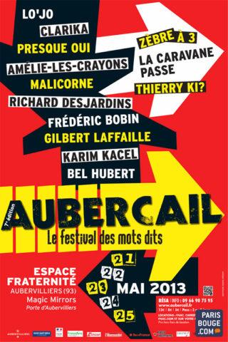 Aubercail, «le Festival des mots dits» 2013