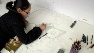 Shuvinai Ashoona drawing