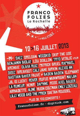 Les Francofolies de la Rochelle 2013