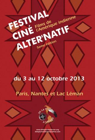 Affiche Festival Ciné Alter'Natif 2013