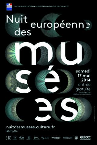 Affiche Nuit européenne des Musées 2014