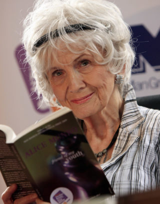 Alice Munro, Photo © Peter Muhly