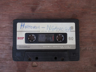 Cassette Historia Nganoga. Collection privée.Crédit Kapwani Kiwanga